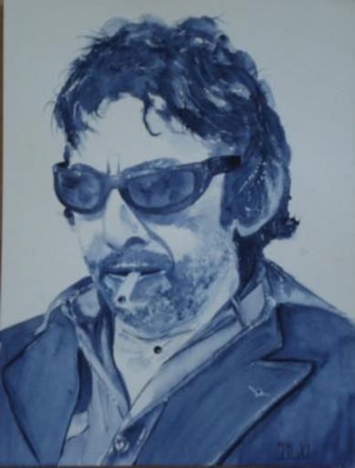 Serge Gainsbourg by aquarelle-autrement